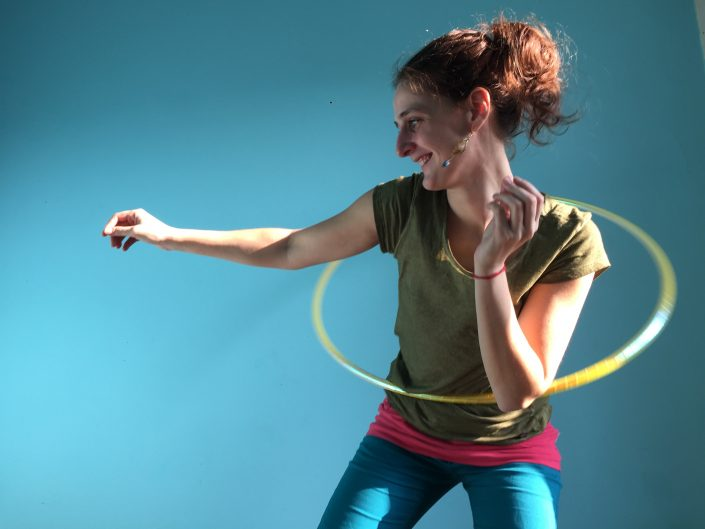 Online hoopdance lessen